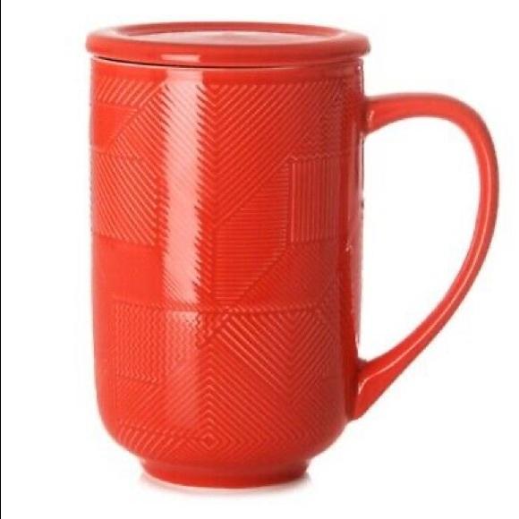 Set of 2 David's Tea Nordic mug in Holly